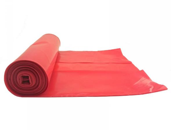 Worki na śmieci czerwone 60 L - 1 rolka